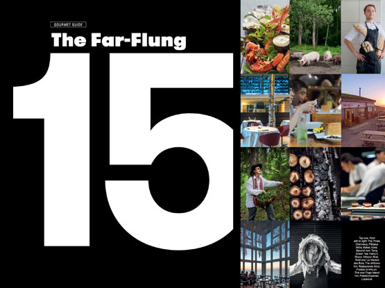 The Top 15 Far Flung